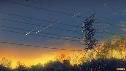 Meteor Pylon by mclelun