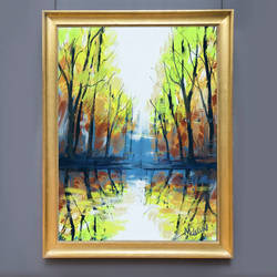 Abstract Landscape Painting by mclelun