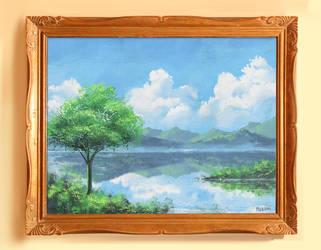 Canvas Landscape Painting by mclelun