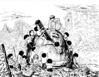 a tank by copyrezo