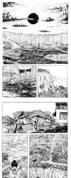 Ellenbee Kaus vs. the Giant by copyrezo
