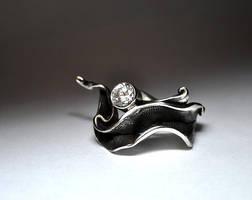 Ring Leaf (c)Yulia Gato by GatoJewel-DerKater