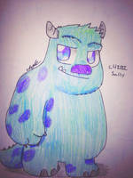 Chibi Sully (Monsters Inc) by Africa2000