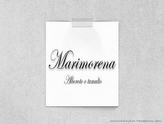 Mis palabras favoritas - Marimorena by SusanaCLLL