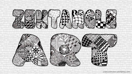 Zentangle Art by @Susana Clavero by SusanaCLLL