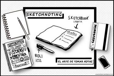 Sketchnoting by SusanaCLLL