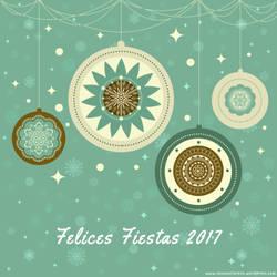 Merry Xmas Felices Fiestas 2017 by SusanaCLLL