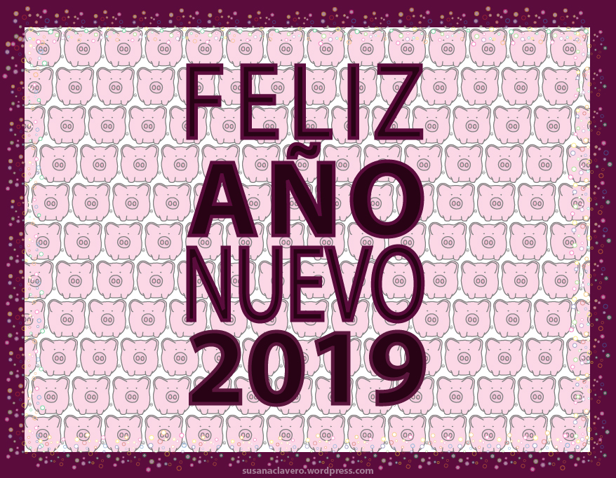 Happy New Year 2019 by SusanaCLLL
