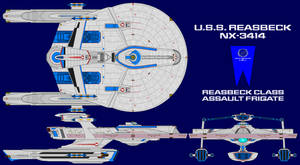 USS Reasbeck NX-3414 by GAT-X139