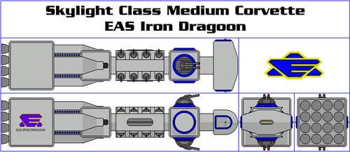 Skylight Class Medium Corvette - EAS Iron Dragoon by GAT-X139