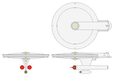 USS Gato - Gato Class Monitor Frigate by GAT-X139