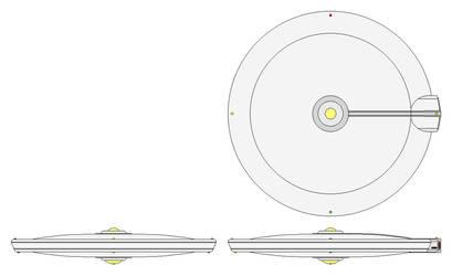 Speer Class Saucer by GAT-X139