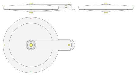 Gato Class Saucer by GAT-X139