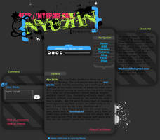 Custom MySpace Interface by Nyukin