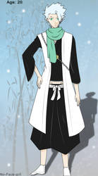 AP Hitsugaya by No-Face-girl