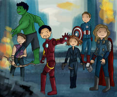 Avenger Time by usmelllikedogbuns