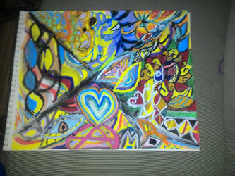 psychedelic art  by AnthonyJSalcido