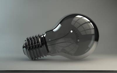 Light bulb render by german1977