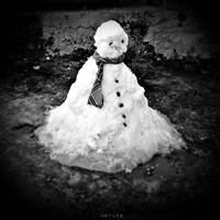 Snowman by MarinaCoric