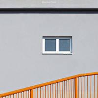 Orange Fence by MarinaCoric