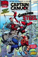 Standard Comics Team-Up #180 - Cyborilla by roygbiv666