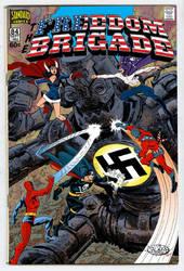 Freedom Brigade #84 - Nazi Robot by roygbiv666