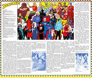 Standard Comics Encyclopedia - The Sentinels by roygbiv666