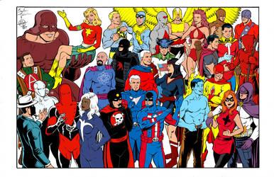 Sentinels - Standard Comics Encyclopedia - Image by roygbiv666