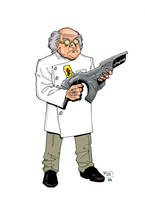 Dr. Micro by TJ Frias and Rob Shalda by roygbiv666