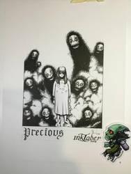 Precious - Inktober 2018-09 by Madmonkeylove