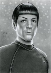 Spock From Star Trek by watracz