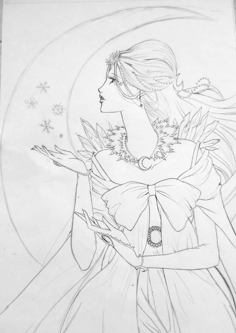 Moon Princess by Blumye
