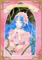 RinRin Doll in the Book of the Hundred Stories by Blumye