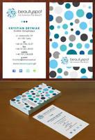 Beautyspot - business card by Funialstwo