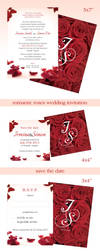 Rose Wedding Invitation by Funialstwo