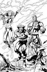Ultimate X-men Ink by JPR04