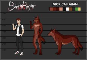BirthRight - Nick Reference Sheet by IrishWolven