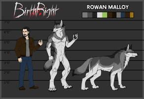 BirthRight - Rowan Reference Sheet by IrishWolven