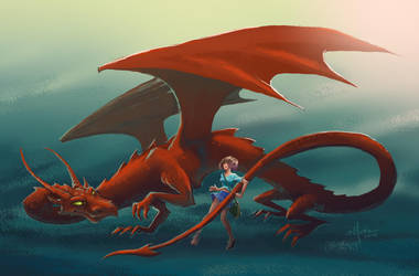 About Dragons by Elfessa