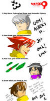 Cyborg Meme JUST BECUZ by Akagumo