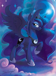 Princess Luna by SoulscapeCreatives