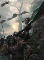 Battlefield by MCfrog
