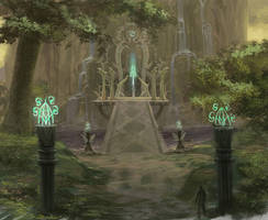 Elven's Altar by MCfrog