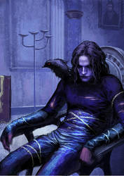 The Crow by MCfrog
