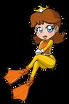 Chibi Aqua Daisy by Severflame