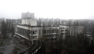 ghost town Pripyat by lacrimas-art