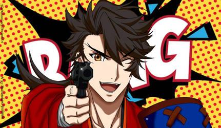 Mutsunokami Yoshiyuki: BANG! by TheDemonLady