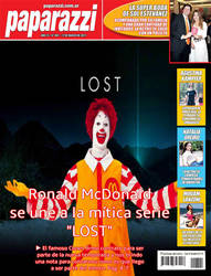 Ronald McDonald is the new star in LOST by TheDemonLady