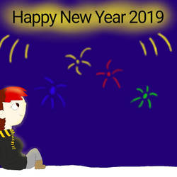 happy New Year 2019 by dalynie123