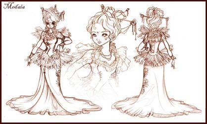 Medaia Character Sheet by mree